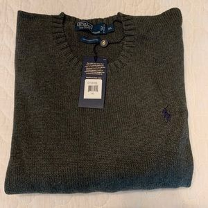 Polo Sweater XL - new with tags